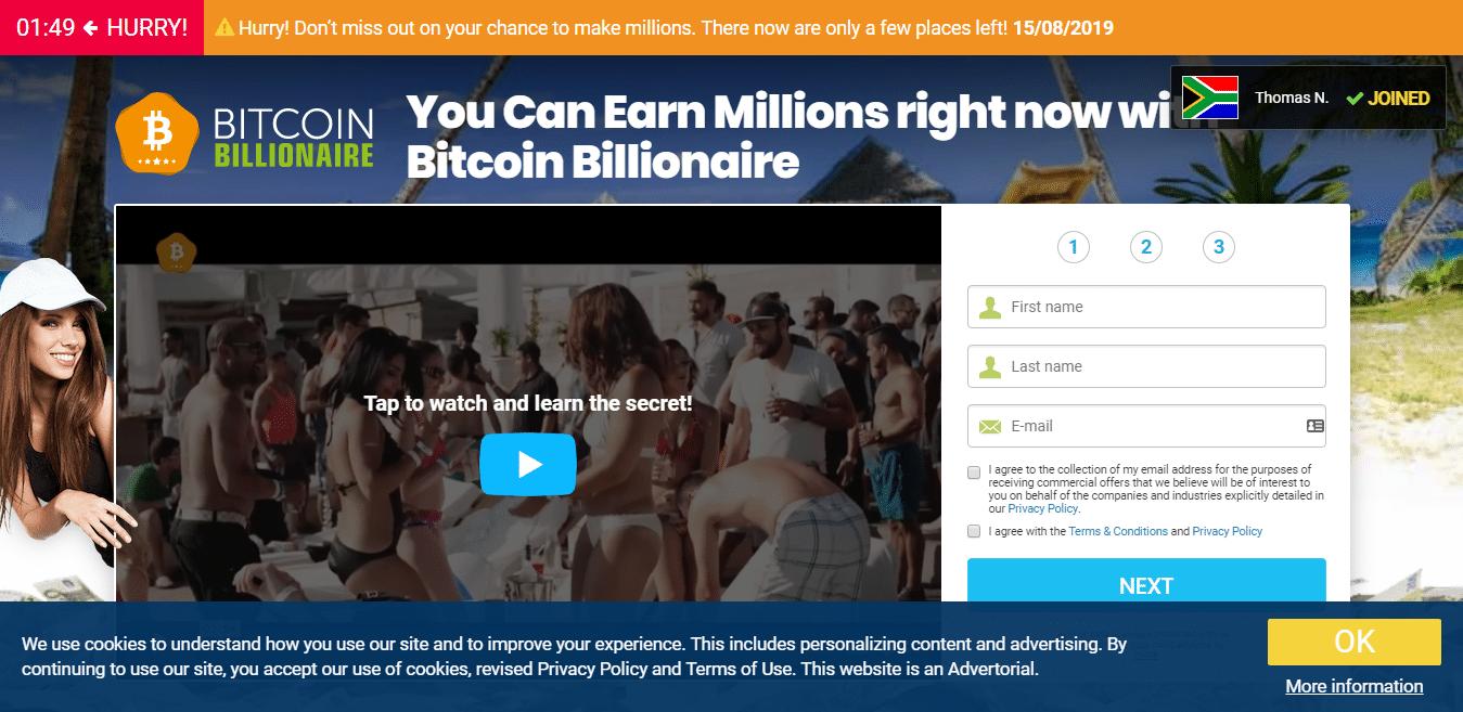 Bitcoin Billionare Como usar o aplicativo Bitcoin Billionare?