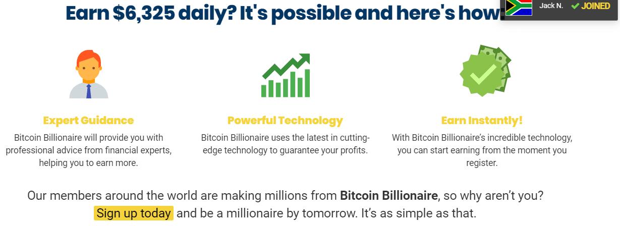 Bitcoin Billionare Como funciona o aplicativo Bitcoin Billionare?