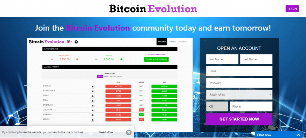 Bitcoin Evolution Como funciona o aplicativo Bitcoin Evolution?