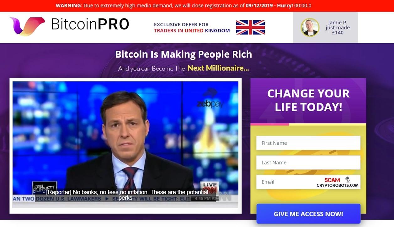 Como usar o aplicativo Bitcoin Pro?
