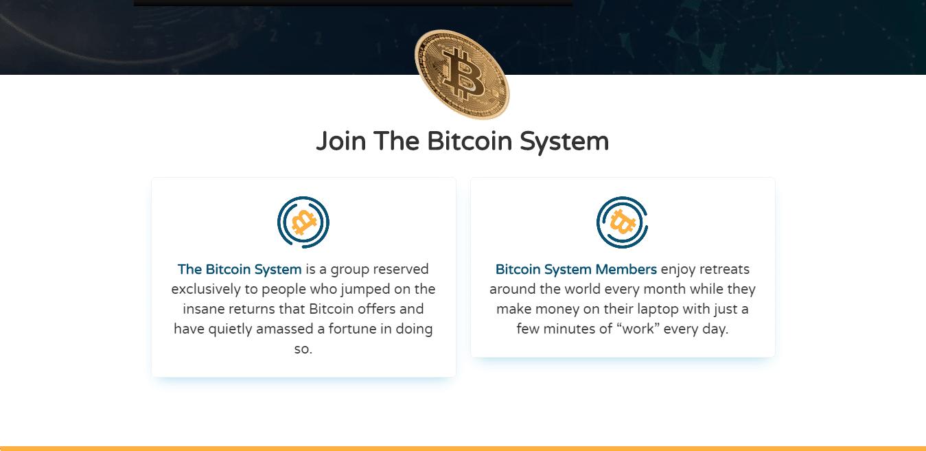 Bitcoin System Como funciona o aplicativo Bitcoin System?