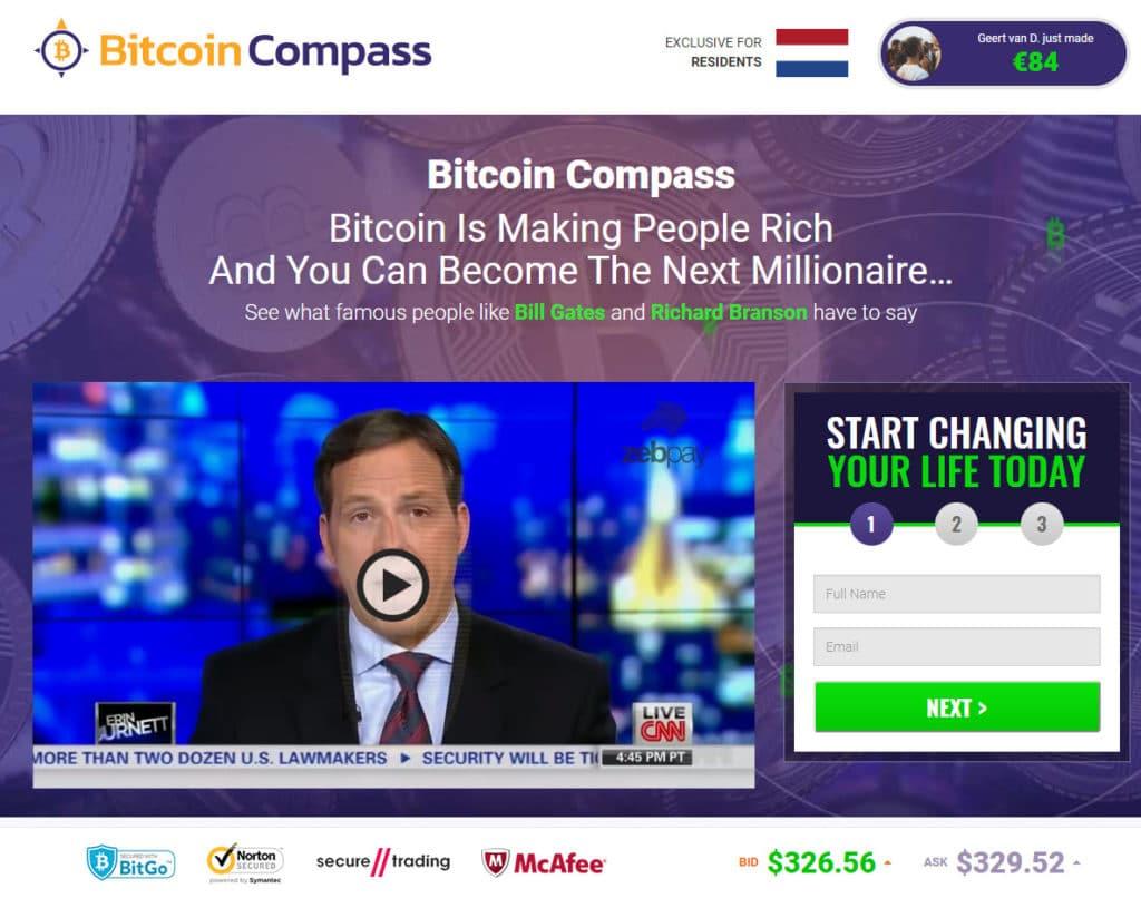 Bitcoin Compass Como usar o aplicativo Bitcoin Compass?