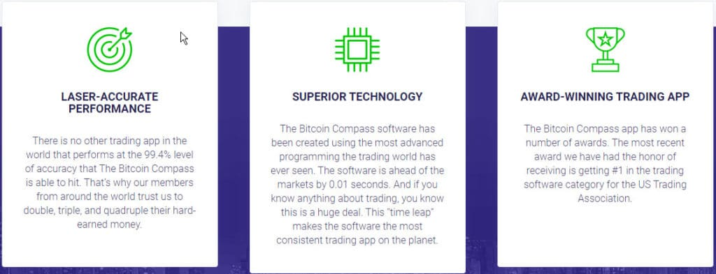 Bitcoin Compass Como funciona o aplicativo Bitcoin Compass?