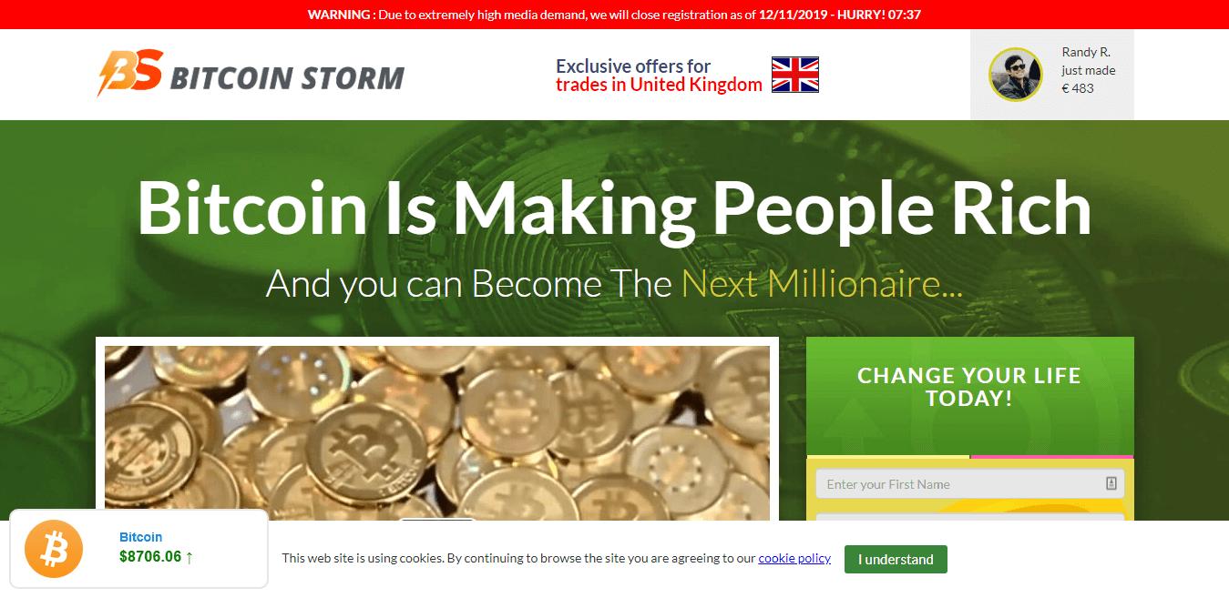Bitcoin Storm Como usar o aplicativo Bitcoin Storm?