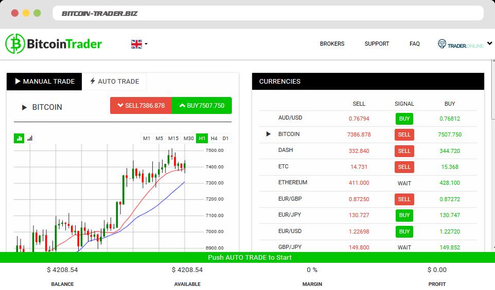 Bitcoin Trader Como usar o aplicativo Bitcoin Trader?