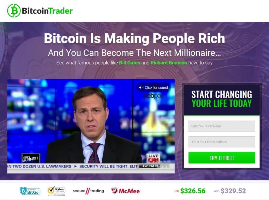 Bitcoin Trader Como funciona o aplicativo Bitcoin Trader?