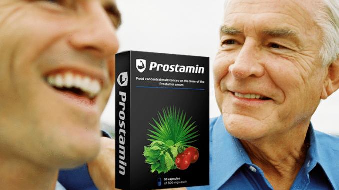 Prostamin Instruções de uso do Prostamin