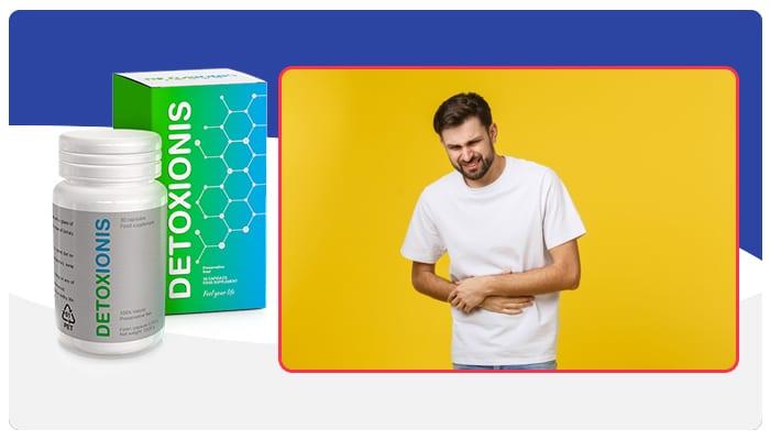 Detoxionis Instruções de uso do Detoxionis