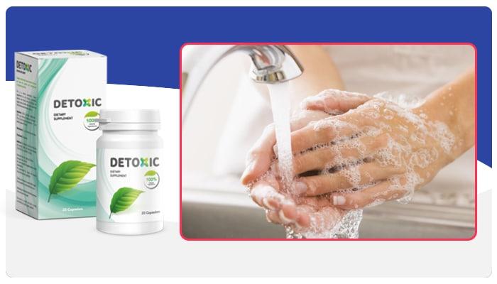 Detoxic Instruções de uso do Detoxic